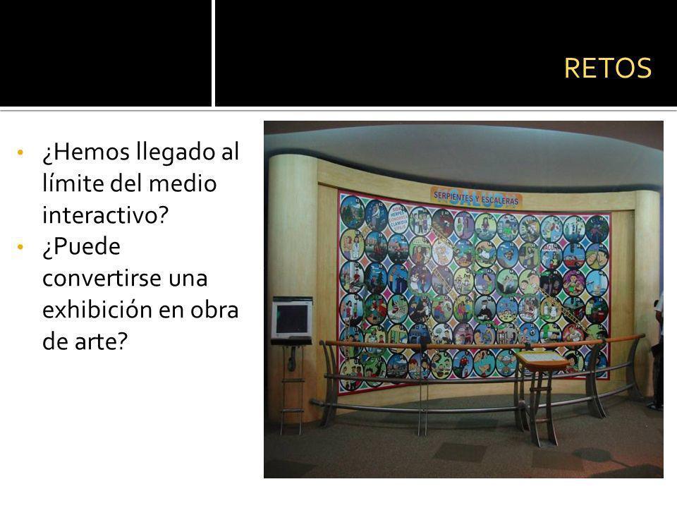 ¿Hemos llegado al límite del medio interactivo.¿Puede convertirse una exhibición en obra de arte.