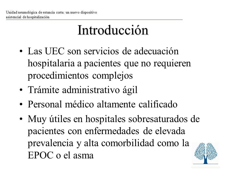 Limitaciones La forma más utilizada de analizar el impacto de la UEC es la comparación entre periodos similares de años consecutivos.