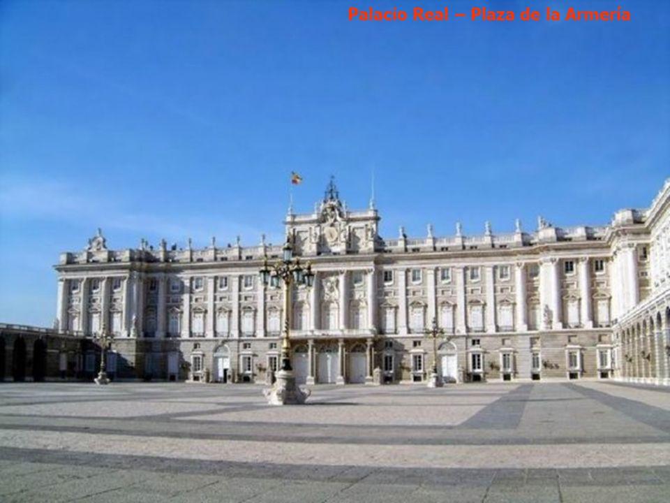 Plaza de Oriente y Teatro de la Ópera