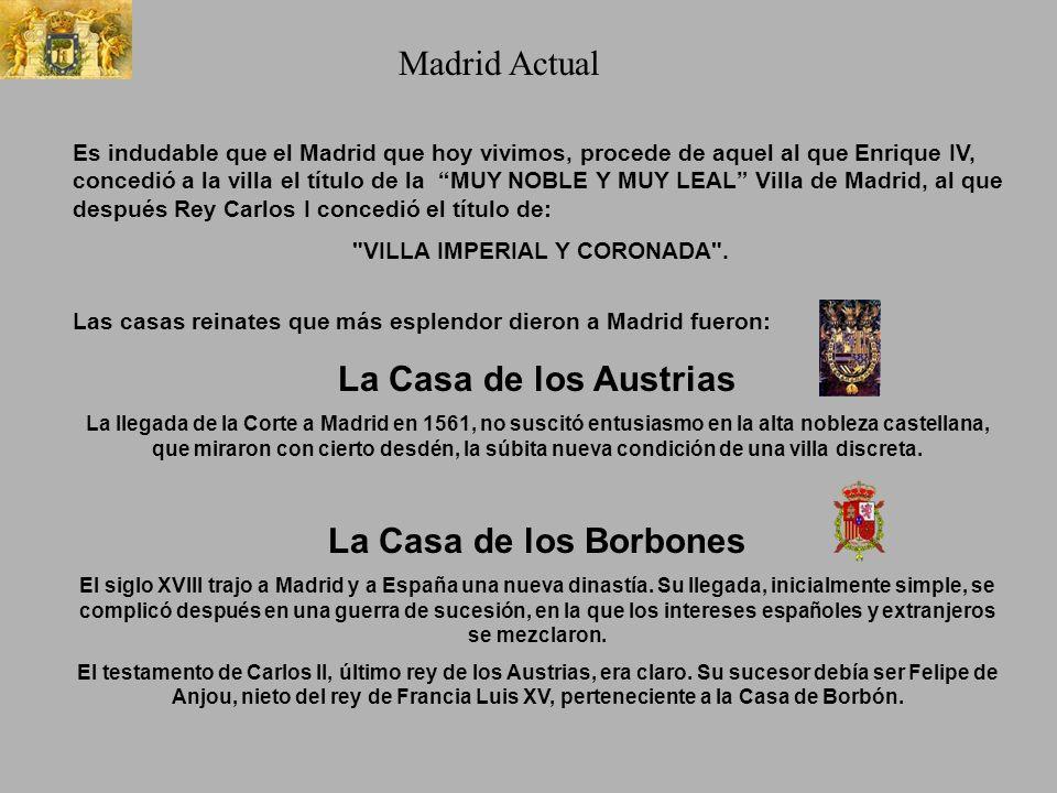Hacer click para comenzar Un corto paseo por la historia de Madrid, que nos lleva a la realidad actual de esta Gran Orbe.