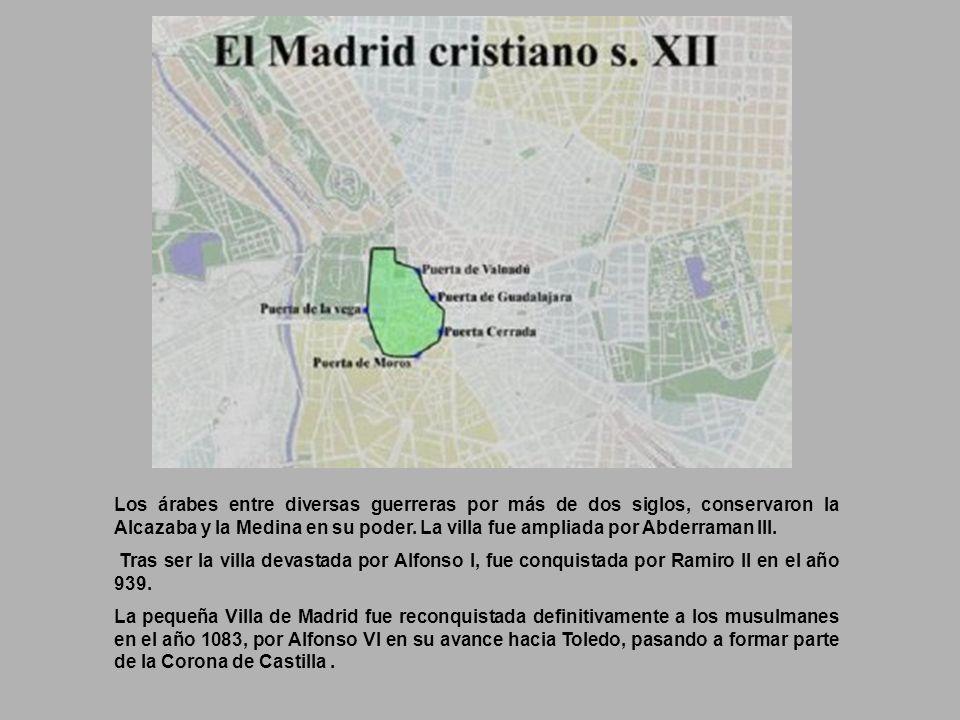 La verdadera historia de Madrid, comienza cuando Mohammed I, hijo de Abderraman II, quien levantó su Alcazaba en un altozano que, dominaba el Manzanar
