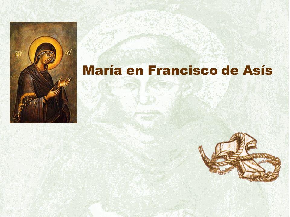 María en Francisco de Asís