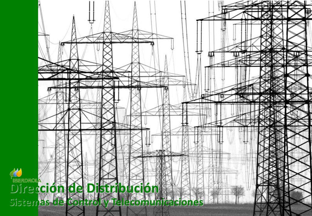 Gestión de la demanda eléctrica para el incremento de la eficiencia energética 11 Dirección de Distribución Sistemas de Control y Telecomunicaciones