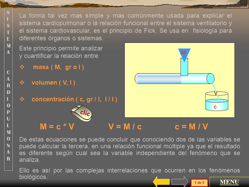 MENU GENERAL SISTEMA CARDIOPULMONAR HEMATOSIS GASES SISTEMA CARDIOPULMONAR HEMATOSIS GASES