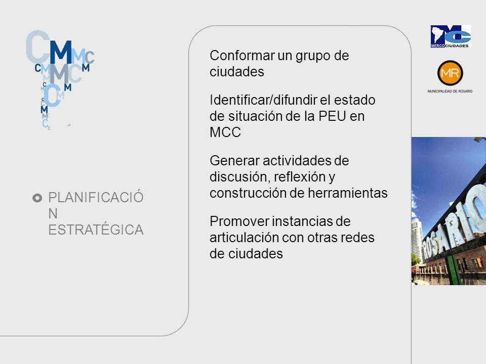 PLAN DE TRABAJO Unidad Temática de Planificación Estratégica Coord.