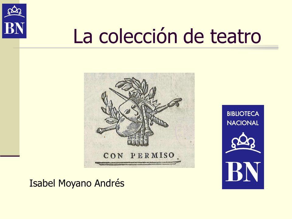 La colección de manuscritos teatrales está compuesta de unas 10.500 piezas.