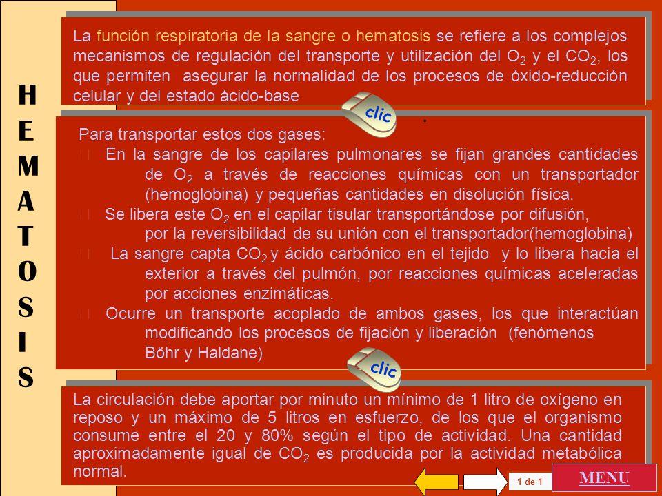 HEMATOSIS PRESION PARCIAL DE O 2 CURVA DE DISOCIACION DIAGRAMA P O2 - P CO2 SANGRE VENOSA MIXTA HEMATOSIS PRESION PARCIAL DE O 2 CURVA DE DISOCIACION