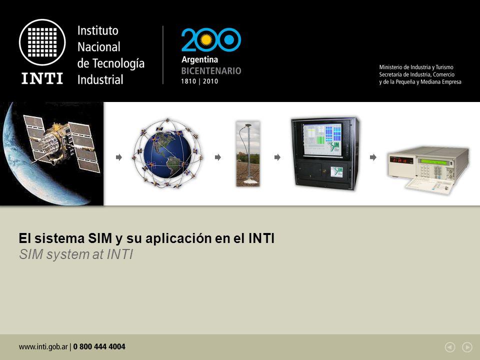 El sistema SIM y su aplicación en el INTI SIM system at INTI