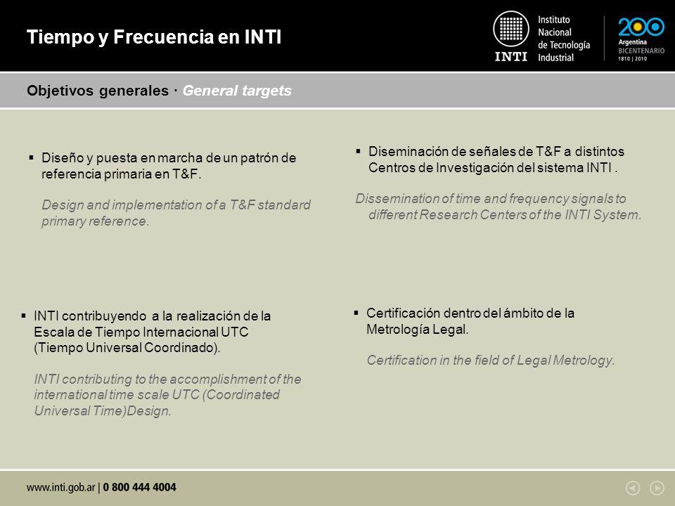 Diseño y puesta en marcha de un patrón de referencia primaria en T&F.
