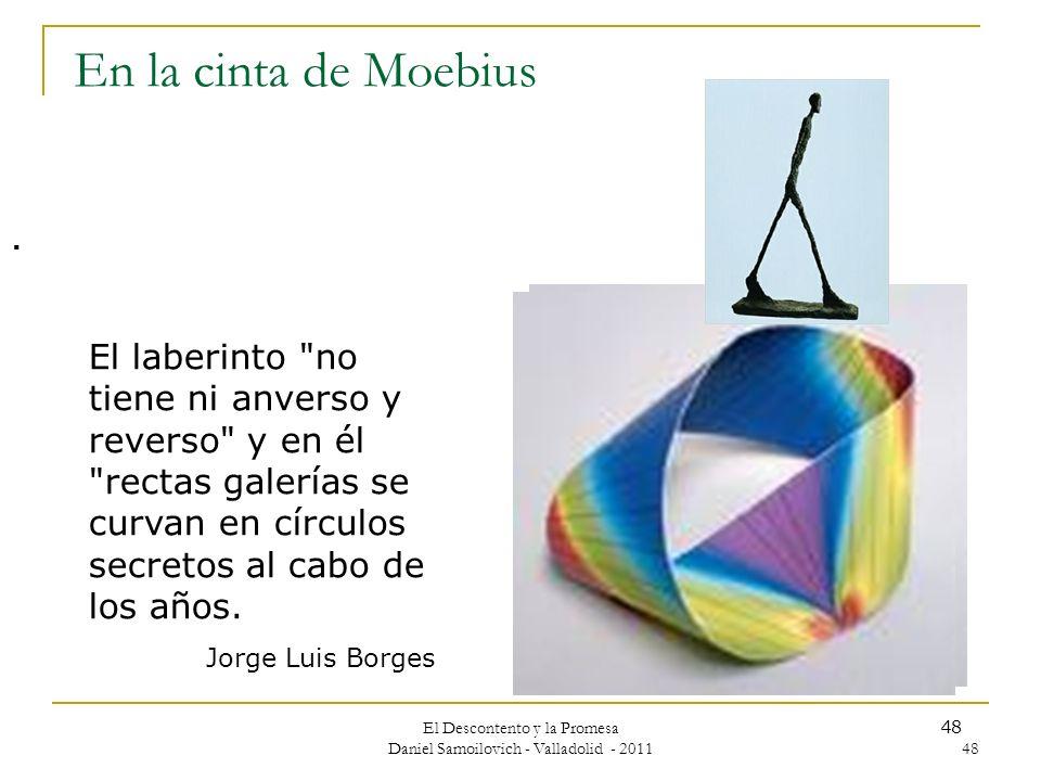 El Descontento y la Promesa Daniel Samoilovich - Valladolid - 2011 48 En la cinta de Moebius. El laberinto