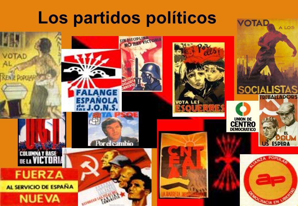 Los partidos políticos