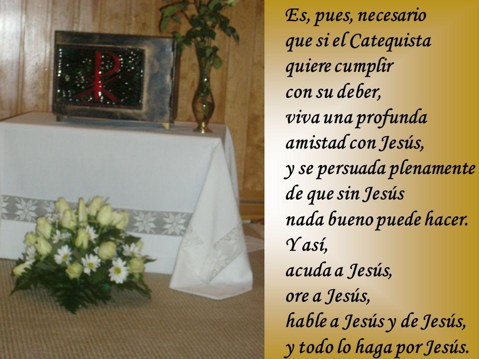 Aproveche, sobre todo, el tiempo solemne de la preparación a la Primera Comunión, para, con mayor esmero, darles a conocer a Jesús, y hablarles de lo