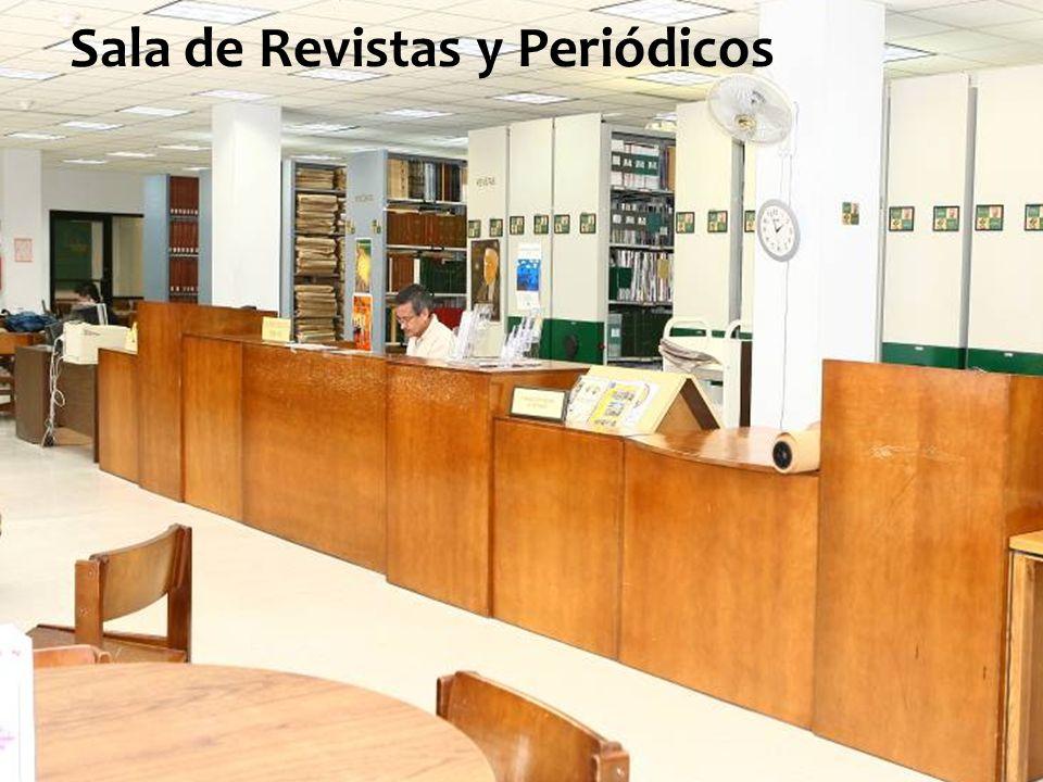 Sala de Revistas y Periódicos