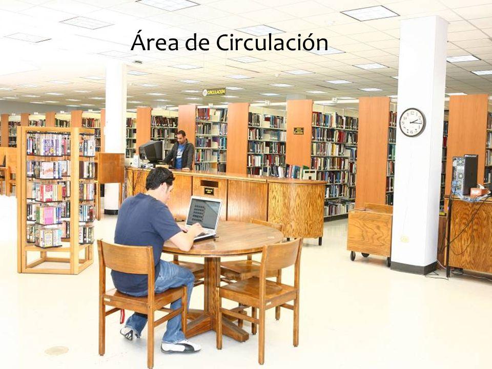 Área de Circulación