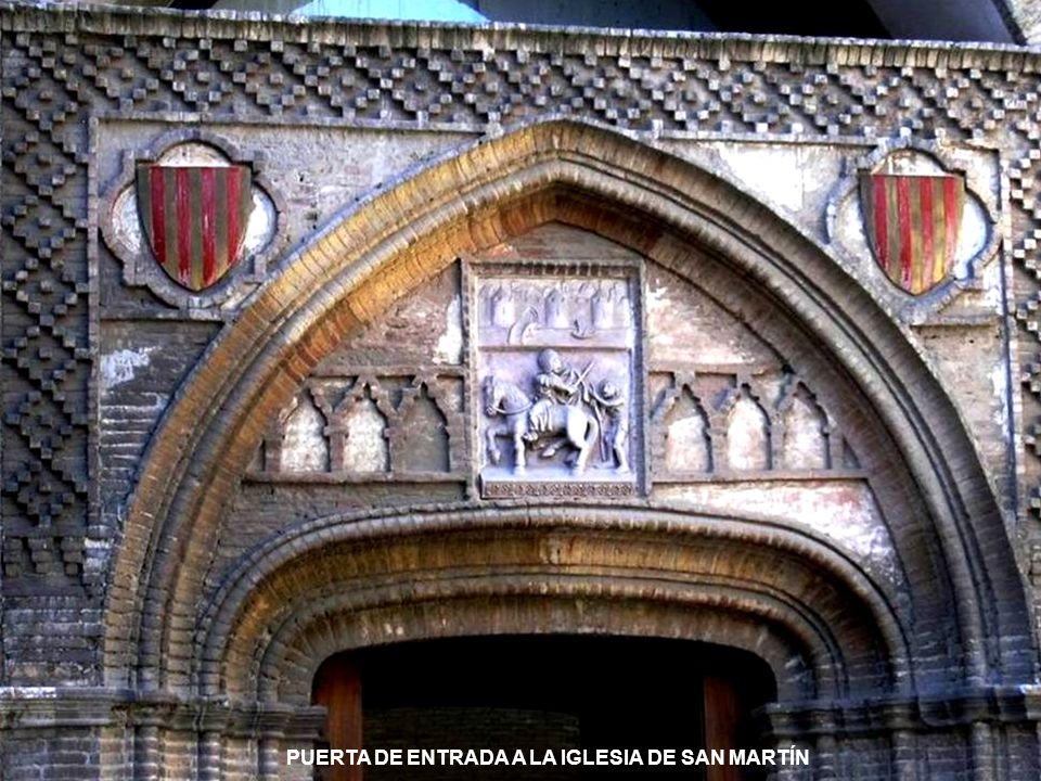 www.vitanoblepowerpoints.net LA IGLESIA DE SAN MARTÍN, OBRA DE ESTILO MUDÉJAR, DEL SIGLO XIV