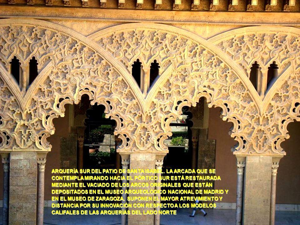 www.vitanoblepowerpoints.net SU NOMBRE PROCEDE DEL NACIMIENTO EN LA ALJAFERÍA DE LA INFANTA ISABEL DE ARAGÓN, QUE FUE EN 1282 REINA DE PORTUGAL. SE HA