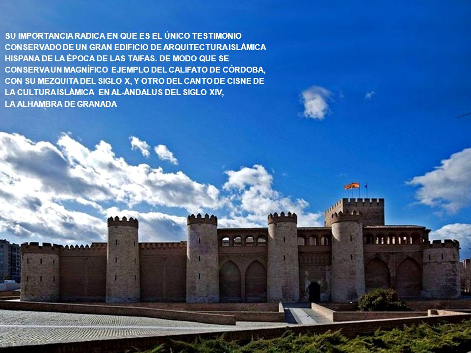 www.vitanoblepowerpoints.net ESTE PALACIO DE RECREO (LLAMADO ENTONCES «QASR AL-SURUR» O PALACIO DE LA ALEGRÍA) REFLEJA EL ESPLENDOR ALCANZADO POR EL REINO TAIFA EN EL PERIODO DE SU MÁXIMO APOGEO POLÍTICO Y CULTURAL.