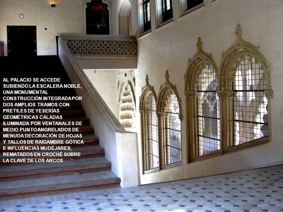 www.vitanoblepowerpoints.net EN LOS ÚLTIMOS AÑOS DEL SIGLO XV LOS REYES CATÓLICOS ORDENAN CONSTRUIR UN PALACIO PARA USO REAL SOBRE EL ALA NORTE DEL RE