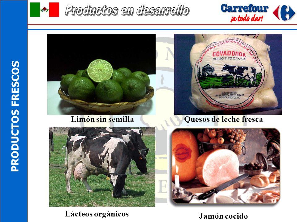 PRODUCTOS FRESCOS Producto Zona de producción Pan bioTlaxcoapan Hgo. Certificado en julio 2002