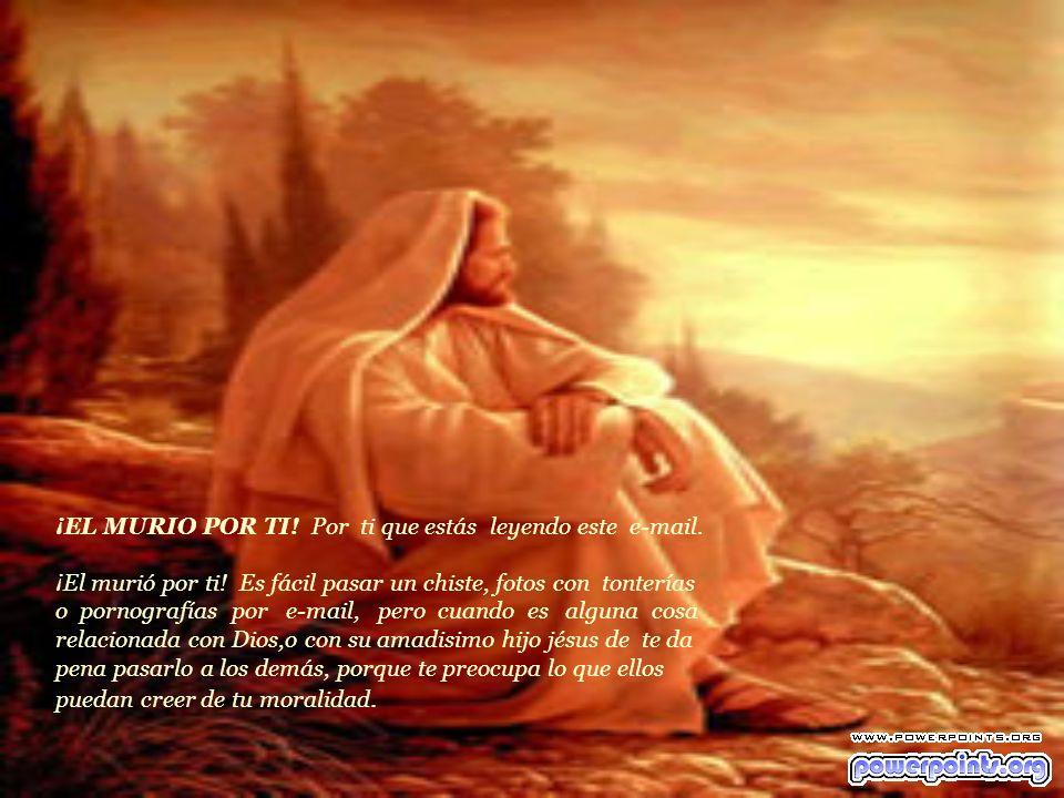 Todo eso pasó Jesús, sólo para que tú tengas un libre acceso a DIOS. Para que tengas todos tus pecados lavados, ¡Todos ellos sin excepción! No ignores