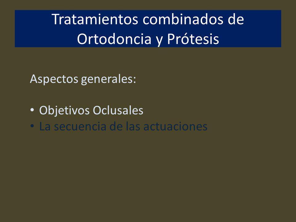 Secuencia: Anterior al tratamiento de Ortodoncia Prevención Periodoncia Operatoria Endodoncia Restauración endodontica (hasta provisionales) Exodoncias (de piezas indicadas o restos radiculares)