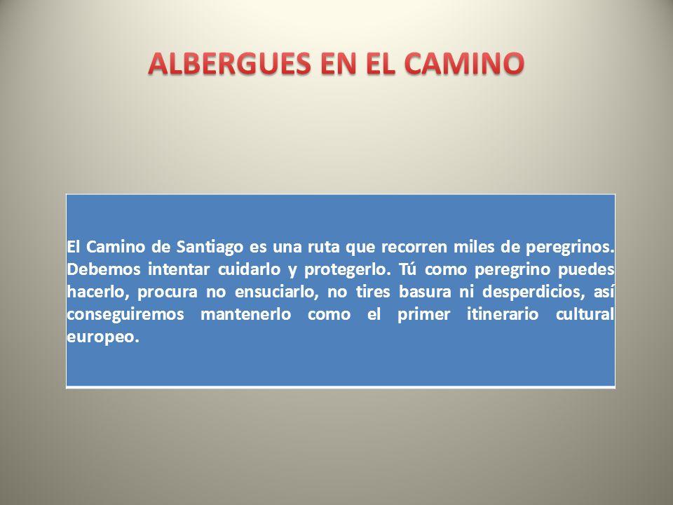 El Camino de Santiago es una ruta que recorren miles de peregrinos. Debemos intentar cuidarlo y protegerlo. Tú como peregrino puedes hacerlo, procura