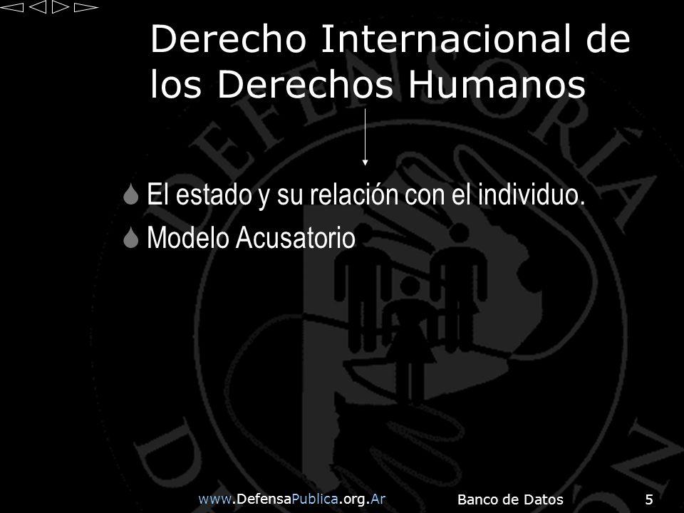 www.DefensaPublica.org.Ar Banco de Datos16 Tortura