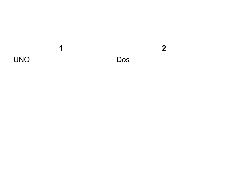 3 Tres 4 Cuatro