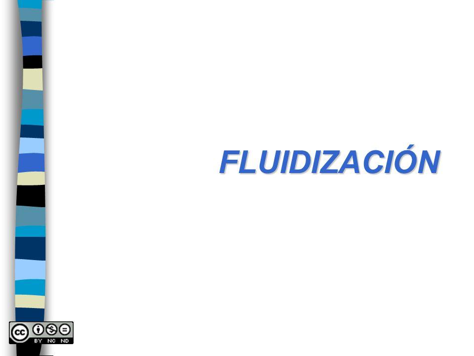 FLUIDIZACIÓN