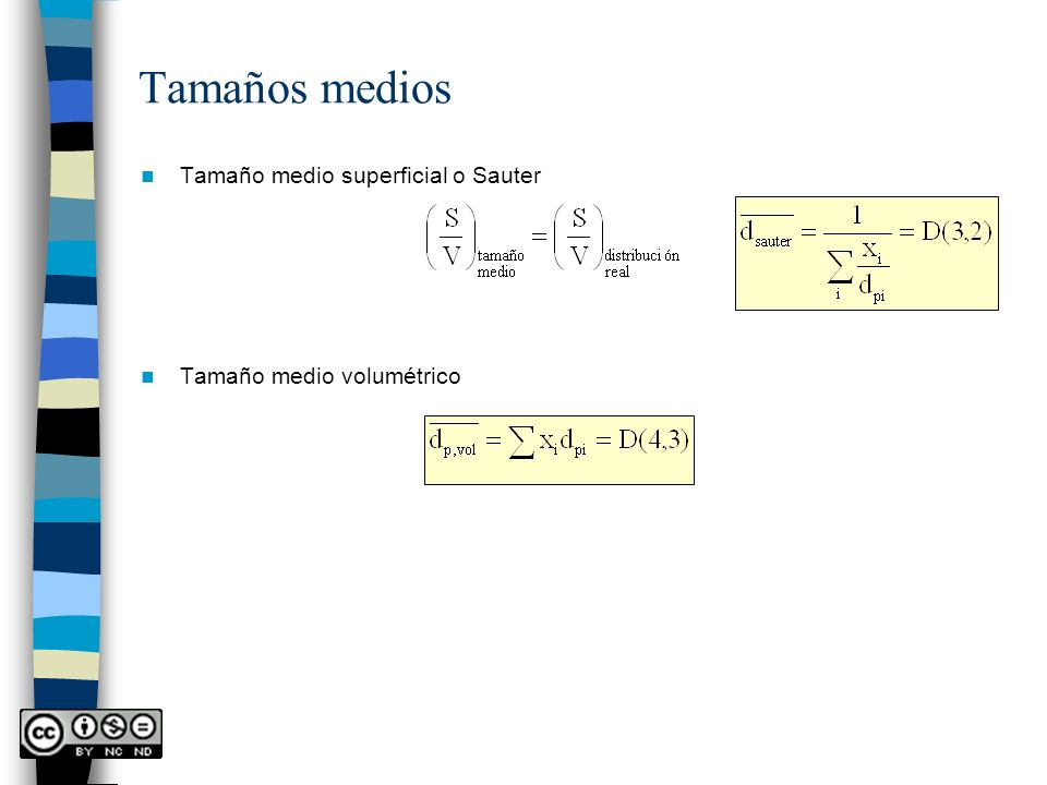 Movimiento de un fluido a través de un conjunto de partículas estacionarias en contacto u+u+ Régimen laminar Ley de Darcy k = permeabilidad Por el tamaño de las partículas: -Lodos o tortas: partículas muy finas.