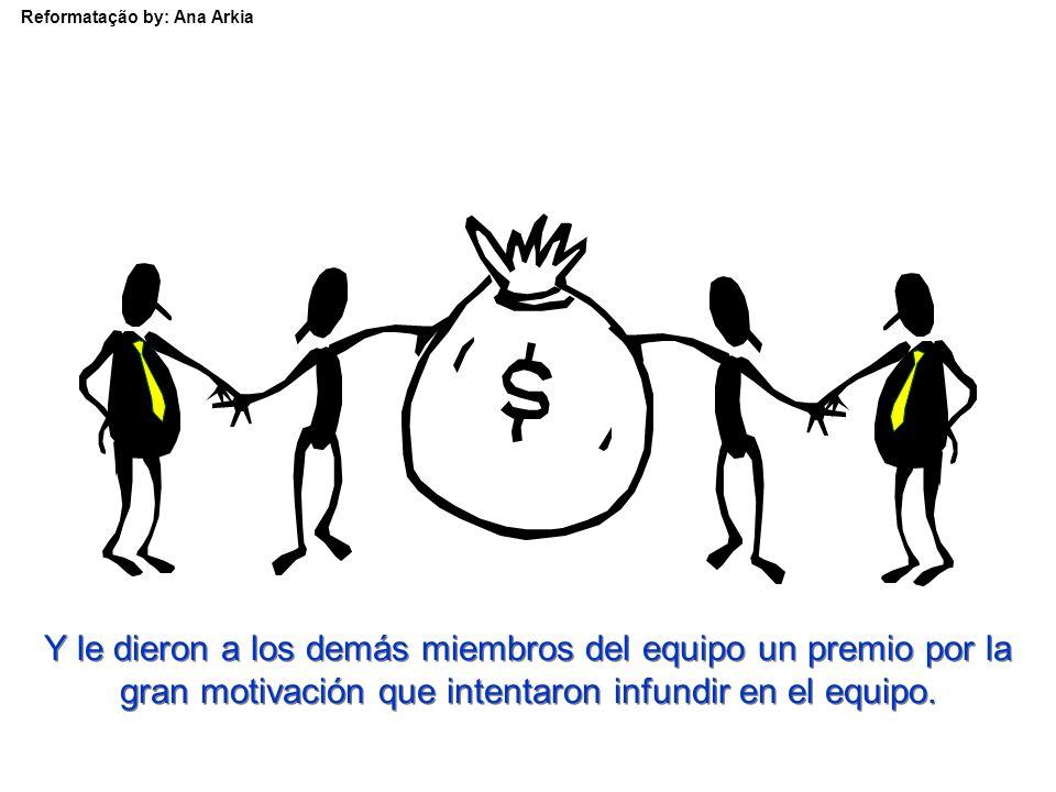 Reformatação by: Ana Arkia Los dirigentes de la empresa despidieron al remero a causa de su mal desempeño.