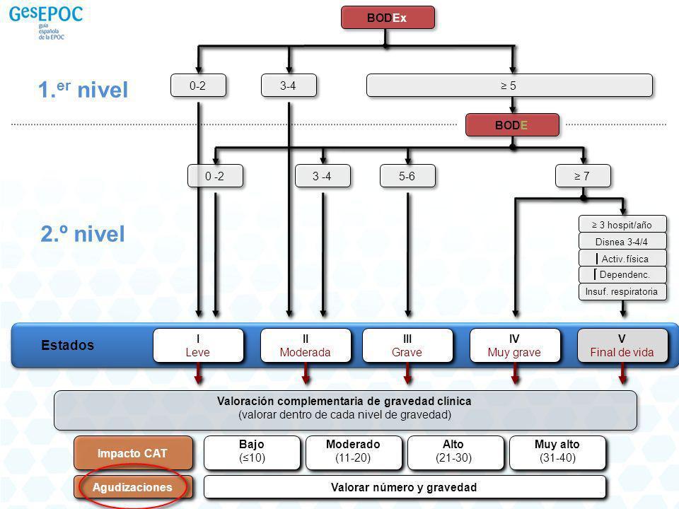 Deterioro de la función pulmonar y patógenos causales en las exacerbaciones de la EPOC Enterobacterias, Gram - resistentes incluyendo P.