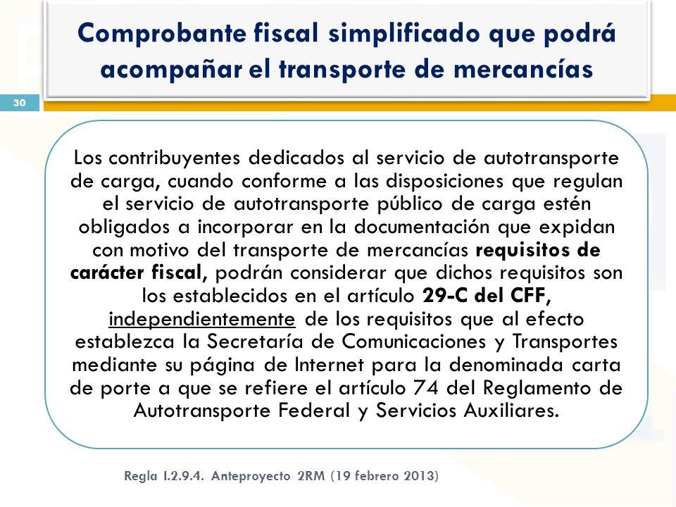 Los contribuyentes dedicados al servicio de autotransporte de carga, cuando conforme a las disposiciones que regulan el servicio de autotransporte púb