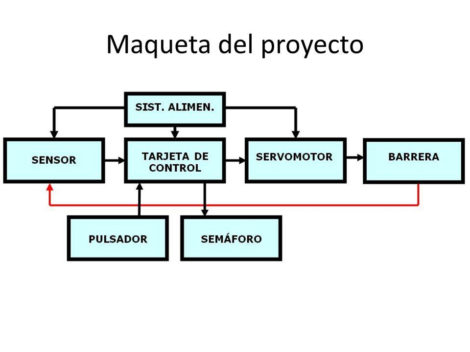 Control barrera por bluetooth