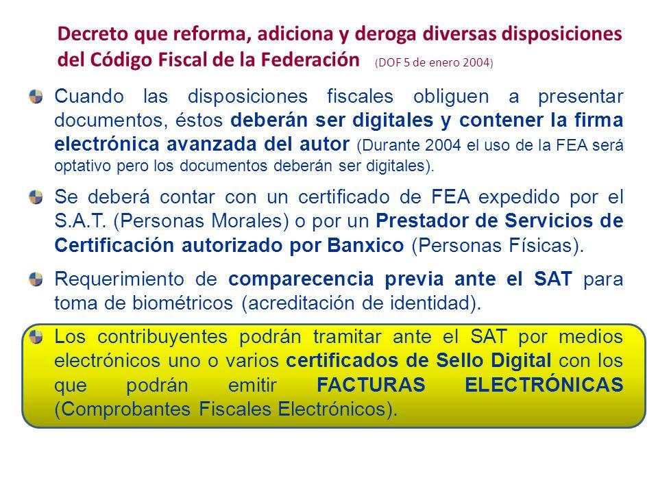 Cuando las disposiciones fiscales obliguen a presentar documentos, éstos deberán ser digitales y contener la firma electrónica avanzada del autor (Dur