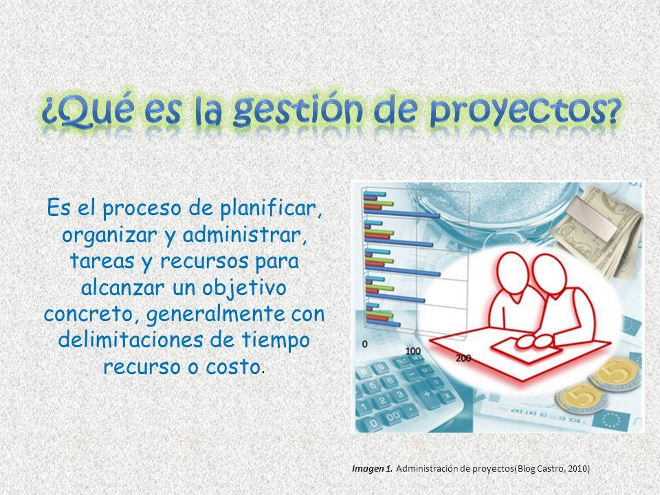 Es el proceso de planificar, organizar y administrar, tareas y recursos para alcanzar un objetivo concreto, generalmente con delimitaciones de tiempo