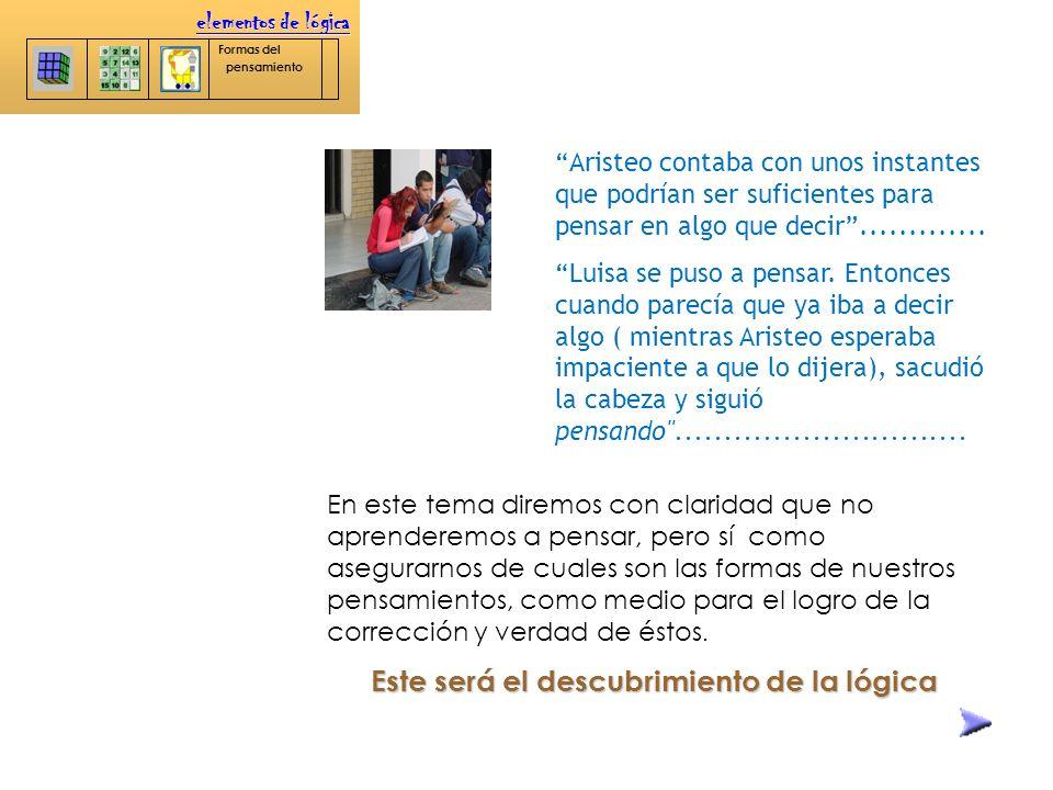 Instituto Politécnico Nacional elementos de lógica Formas del pensamiento Diseñado por María Eugenia Ramírez Solís