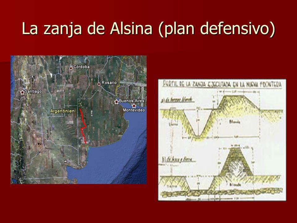 La zanja de Alsina (plan defensivo)