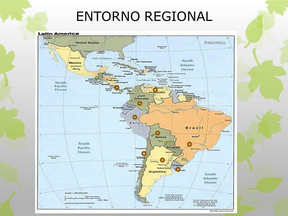 ENTORNO REGIONAL