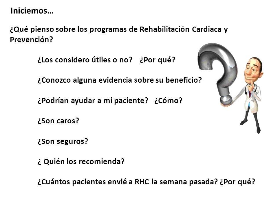 Rehabilitación Cardiovascular y Prevención Secundaria Dr Hermes I larraza Lomelí.