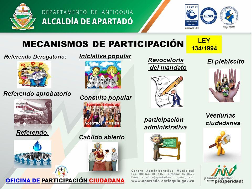 OFICINA DE PARTICIPACIÓN CIUDADANA
