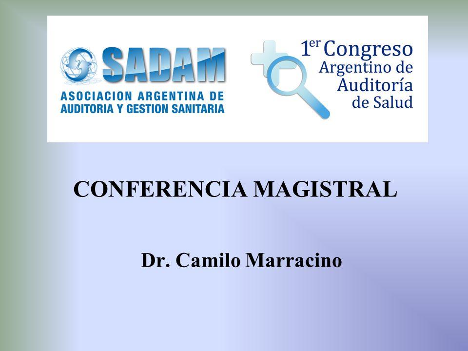 CONFERENCIA MAGISTRAL Dr. Camilo Marracino