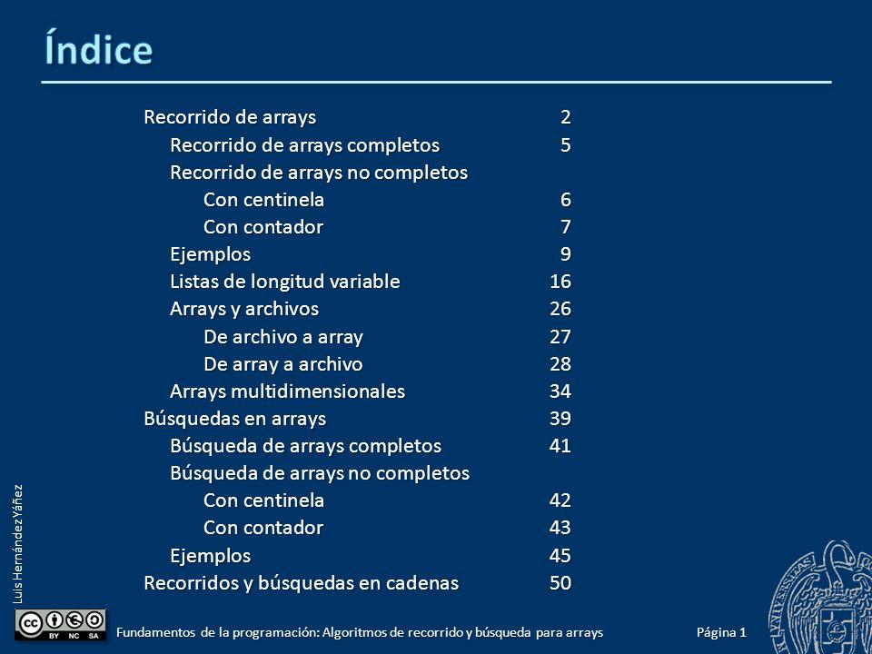 6 Grado en Ingeniería Informática Grado en Ingeniería del Software Grado en Ingeniería de Computadores Luis Hernández Yáñez Facultad de Informática Universidad Complutense Fundamentos de la programación 2011-2012