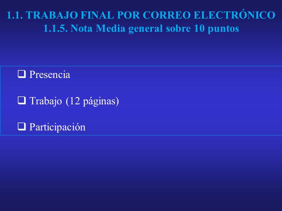 1.1. TRABAJO FINAL POR CORREO ELECTRÓNICO 1.1.5.
