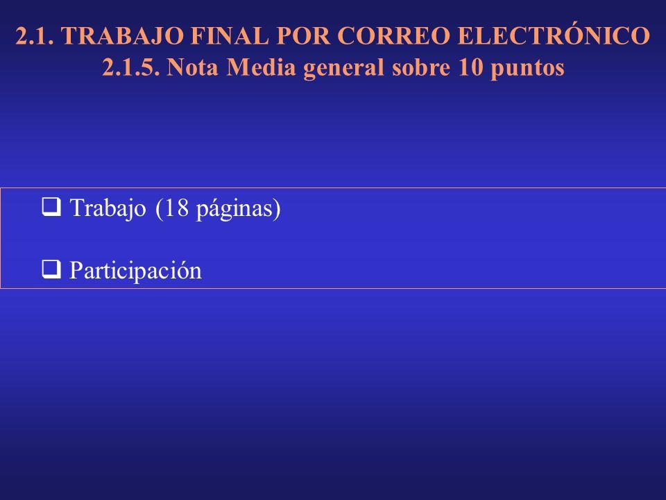 2.1. TRABAJO FINAL POR CORREO ELECTRÓNICO 2.1.5.