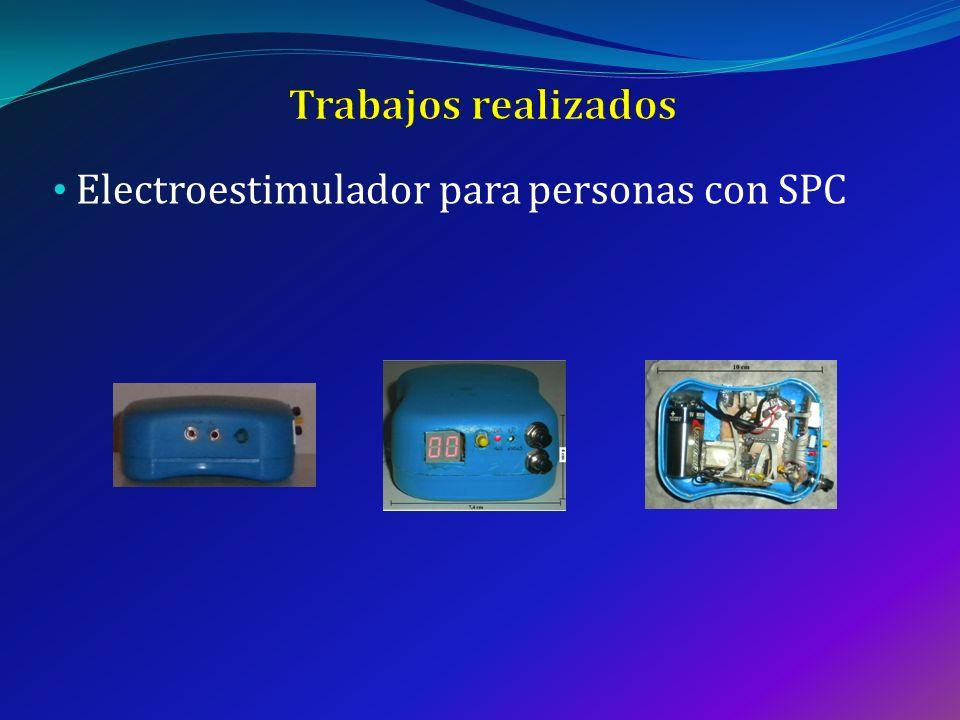 Electroestimulador para personas con SPC