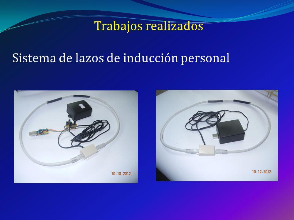 Trabajos realizados Sistema de lazos de inducción personal