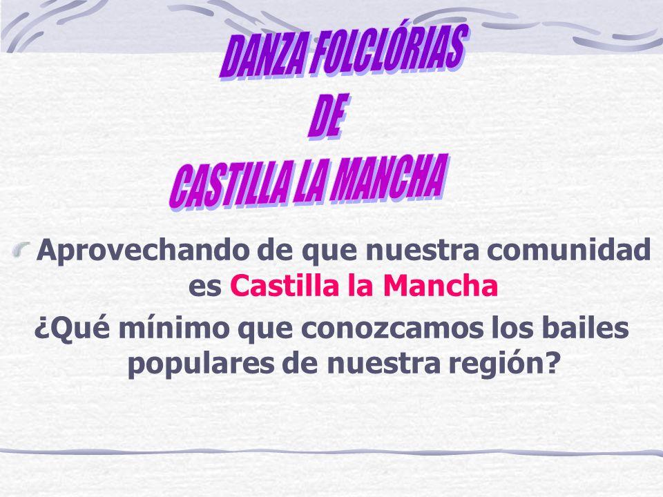 INTRUMENTOS QUE SE UTILIZAN EN LOS BAILES Bandurria Castañuelas Dulzaina Flauta Gaita Guitarra Laúd Palos Tamboril Triángulos Violín etc.