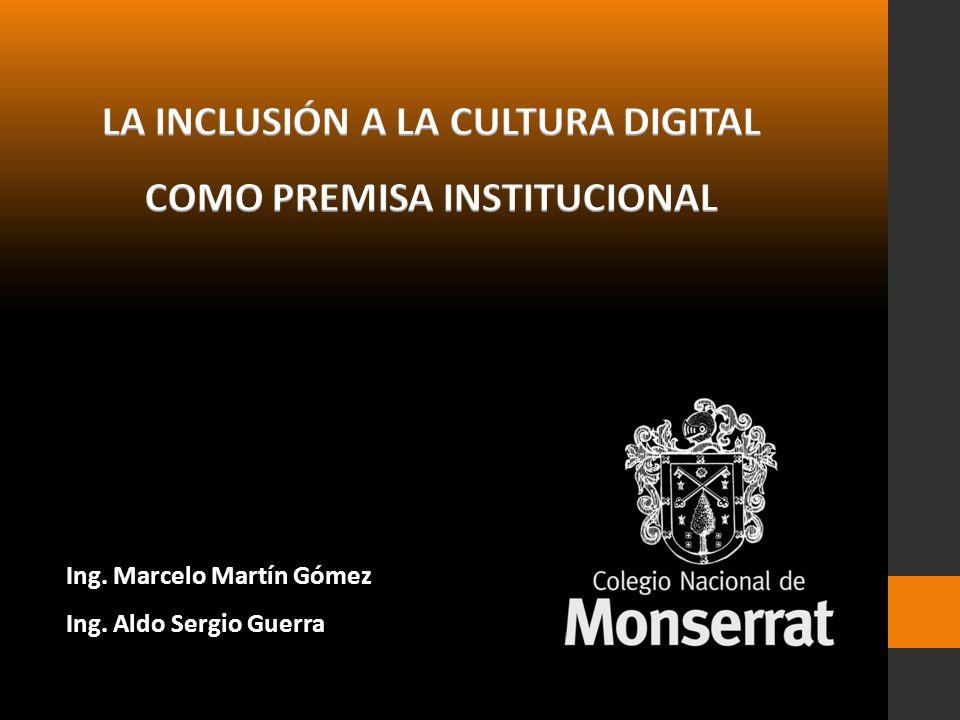 Ing. Marcelo Martín Gómez Ing. Aldo Sergio Guerra