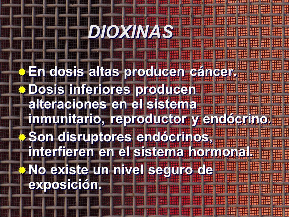 Dioxinas Furanos